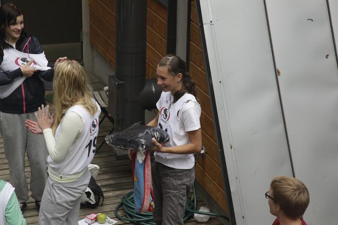 Kohina koskimelontaleiri 2012, Kymijoki